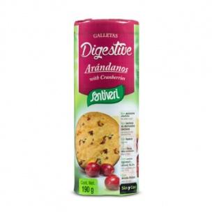 Galletas Digestive Arándanos Santiveri (190g)