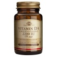 Vitamina D3 2200 Iu Solgar (50cap)