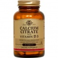 Calcium Citratecon Vitamina D3  Solgar (60cap)