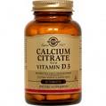 Calcium Citratecon Vitamina D3  Solgar (60cap)