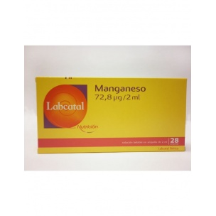 Labcatal Manganeso 10 (28 ampollas de 2 ml)