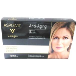 Aspolvit Collagen Plan 10 Días (20 ampollas de 15 ml.)