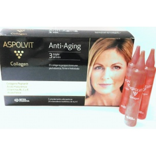 Aspolvit Collagen Plan 10 Días (20 ampollas de 15 ml.)