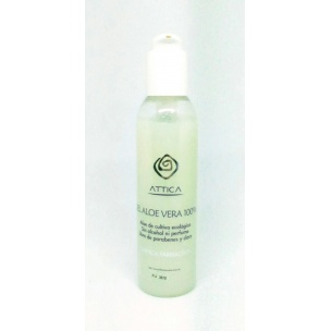 Gel Aloe Vera 100% Attica (200ml)