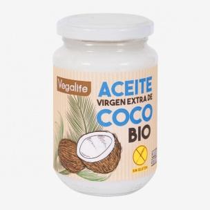 Aceite Coco Virgen Extra Bio Vegalife (370 g)