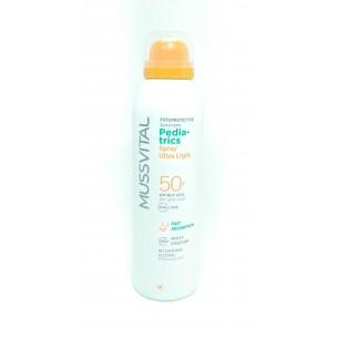 Fotoprotector Aerosol SPF 50+ Pediátrico Mussvital (150 ml)