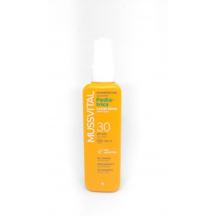 Fotoprotector Solar SPF 30 Pediatrics Spray Mussvital (200 ml)