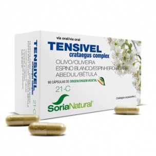 Soria Natural Tensivel 21C (30 cap.)