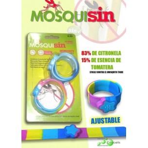 Mosquisin Pulseras Antimosquitos