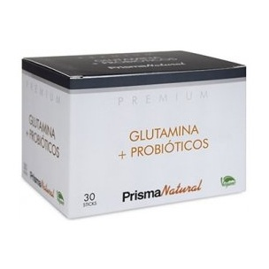 Glutamina + Probiótico Premium Prisma Natural (30 sticks)