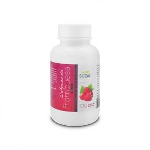 Cetona de Frambuesa Plus Sotya (120 cáp de 600 mg)