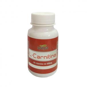 Sotya L-carnitina (90 cáp. de 600 mg.)