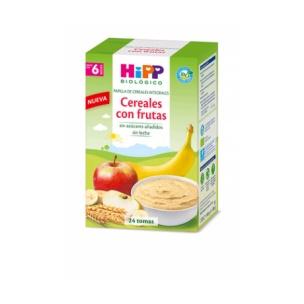 Papilla de cereales con frutas Hipp (600g)