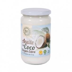 Aceite de Coco Bio 1ª Presión en Frío Sol Natural (580 ml)