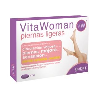 Vitawoman Piernas ligeras Eladiet (30 compr.)