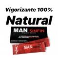 MAN Sinfin Vigorizante 100% Natural Para Él y para Ella (2 sobres de 9 gr.)