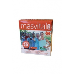 Masvital Plus Vital2000 (20+4 sobres, 360 ml)