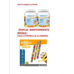 Pack Epaplus Colágeno Con Silicio (Sabor Vainilla) + Regalo 1 Pulsera Citronella