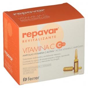 Repavar Revitalizante Ampollas Vitamina C Activa (20 Ud.)