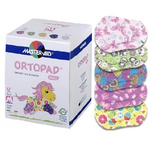 Ortopad Girls Medium (50 U, Talla M)