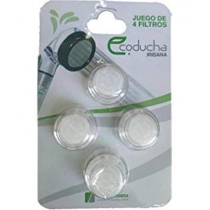 Ecoducha Filtros (4 ud.)