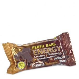Caja de Perfil Bars Energy Chocolate Prisma Natural (30 unid.)