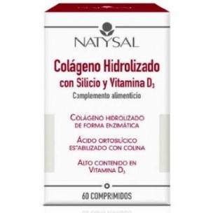 Colágeno Hidrolizado con Silicio y Vitamina D3 Natysal (60comp)