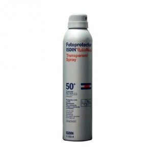 Fotoprotector Isdin  Pediatrics Spray Transparente 50+