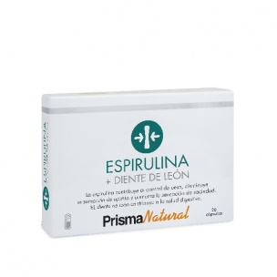 Prisma Natural Diente de León + Espirulina (28 cáp.)