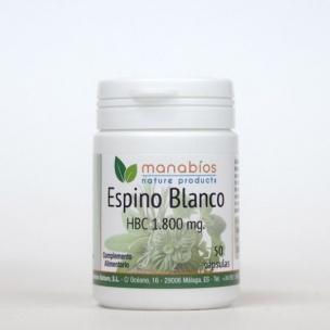 Manabios Espino Blanco (50 cáp. de 1.800 mg.)