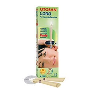 Otosan Cono para la Higiene del Oído.