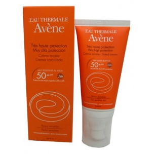 Avene Crema Solar Facial Color 50+