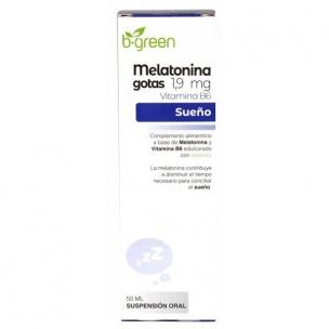 Melatonina gotas 1.9mg B-green (50ml)