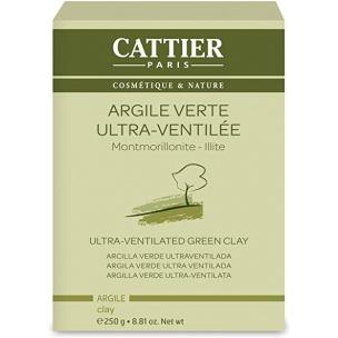 Arcilla Verde ultra ventilada de Cattier (250gr)