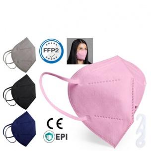 Mascarilla autofiltrante FFP2 (salvaorejas de regalo)