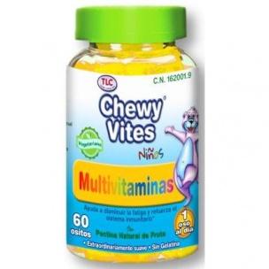 Multivitaminas Plus Infantil de Chewy Vites (60 unid)