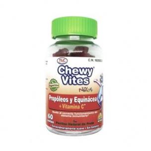 Propóleo y equinacea infantil de Chewy Vites (60unid)