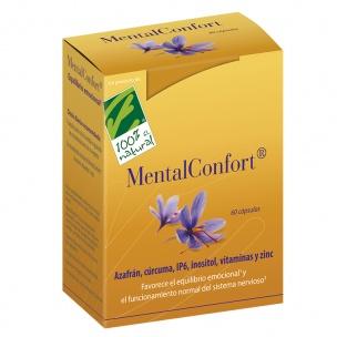 MentalConfort de Cien por Cien Natural (60 cap)