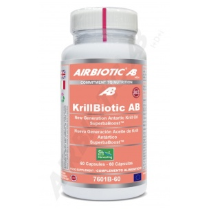 KrillBiotic AB de Airbiotic de (60 perlas)
