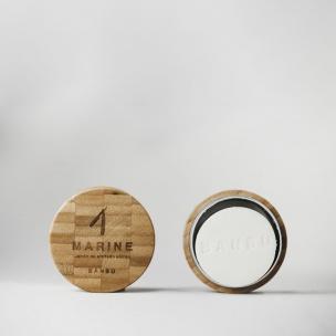 Marine Jabon de Afeitado sólido de Bambu