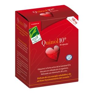 Quinol 10 100mg de Cien por Cien Natural (90 cap)