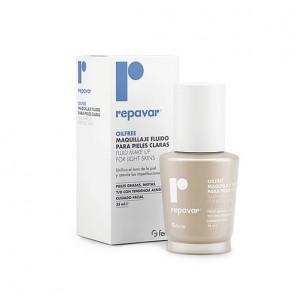 Repavar Maquillaje Fluido OilFree Pieles muy Claras (35ml)