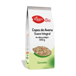 El granero Copos de Avena Integral Suaves (500 gr.)