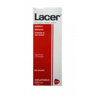Lacer Colutorio Antiplaca con Flúor