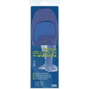 Herbi Feet Plantilla Silonitte Gel Anatómica
