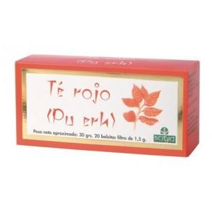Sotya Te Rojo Bolsitas Filtro 20 ud. de 1,5 g.
