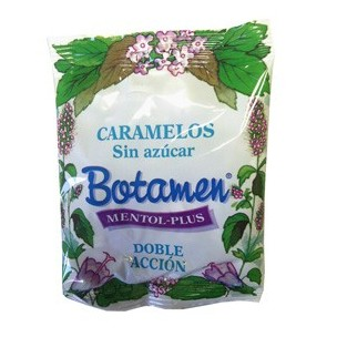 Botamen Caramelos Sin Azúcar/ Sin gluten Mentol Plus