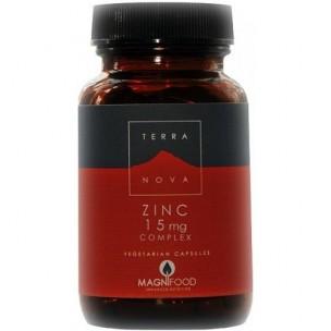 Terra Nova Zinc Complex (100 cáp. de 15 mg)