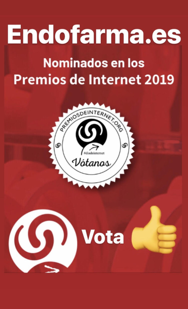 Endofarma Parafarmacia está Nominada a los Premios de Internet